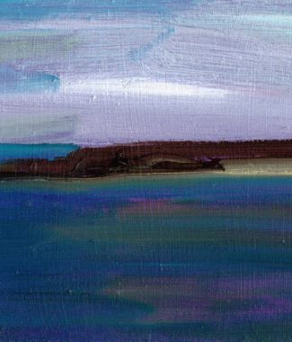 Long Sands, Tynemouth 13 x 18 Oil on Panel Eleanore Ditchburn